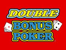 Автомат на деньги Дабл Дабл Бонус Покер